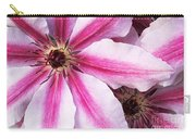 Clematis Close Up Carry-all Pouch