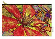 Clematis In Colored Pencil  Carry-all Pouch