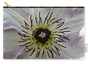 Clematis Stamen Carry-all Pouch