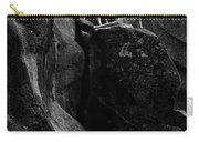 Cliff Dancers Black And White Carry-all Pouch