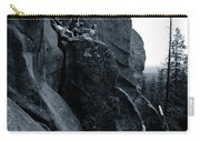 Cliff Dancers Three Black And White Carry-all Pouch