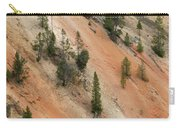 Cliff Side Grand Canyon Colors Vertical Carry-all Pouch