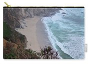 Cliffs And Surf On The California Coast Carry-all Pouch
