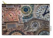 Clocks Of Paris Carry-all Pouch