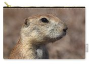 Close On Prairie Dog Carry-all Pouch
