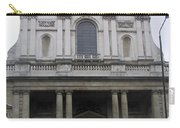Close Up Of A Classical Architecture Of A Building In London Carry-all Pouch