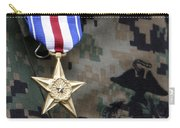 Close-up Of A Medal On The Uniform Carry-all Pouch