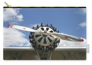 Close-up Of Engine On Antique Seaplane Canvas Poster Print Carry-all Pouch