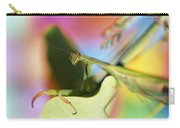 Close-up Of Praying Mantis Carry-all Pouch