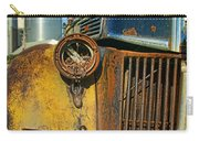 Close Up Of Rusty Truck Carry-all Pouch