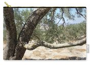 Close Up Olive Tree Carry-all Pouch