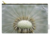 Closeup Of Dandelion Seed Head Carry-all Pouch
