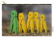 Clothespin Carry-all Pouch