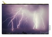 Cloud To Ground Lightning Carry-all Pouch
