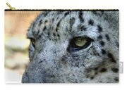 Clouded Leopard Face Carry-all Pouch