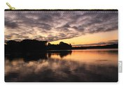 Clouds Going Away At Sunrise Carry-all Pouch