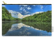 Clouds In The Lake Carry-all Pouch by Adam Jewell