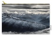 Clouds In The Valley Carry-all Pouch