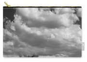 Clouds Rising Bw Palm Springs Carry-all Pouch
