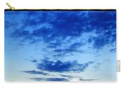 Cloudy Blue Monument Carry-all Pouch