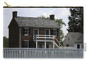 Clover Hill Tavern Kitchen Appomattox Virginia Carry-all Pouch by Teresa Mucha