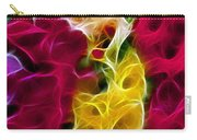 Cluster Of Gladiolas Triptych Panel 2 Carry-all Pouch