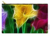 Cluster Of Gladiolas Triptych Panel 3 Carry-all Pouch