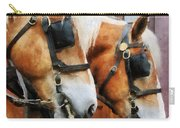 Clydesdale Closeup Carry-all Pouch