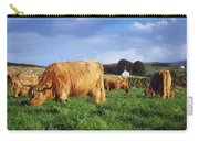 Co Antrim, Ireland Highland Cattle Carry-all Pouch