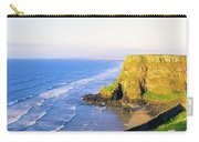 Co Derry, Ireland View Of Cliffs And Carry-all Pouch