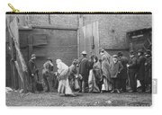 Coal Line, Nyc; 1902 Carry-all Pouch