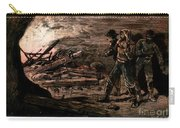 Coal Mine Explosion, 1884 Carry-all Pouch