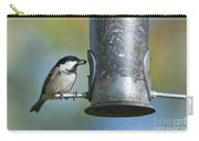 Coal Tit On Feeder Carry-all Pouch