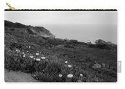 Coastal View Mist - Black And White Carry-all Pouch