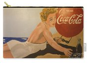 Coca Cola  Vintage Sign Carry-all Pouch
