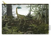 Coelophysis Dinosaurs Walk Amongst Carry-all Pouch