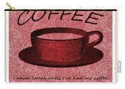 Coffee 2 Scrapbook Carry-all Pouch