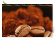 Coffee Beans And Ground Coffee Carry-all Pouch by Elena Elisseeva