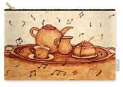 Coffee Break 2 Coffee Painting Carry-all Pouch