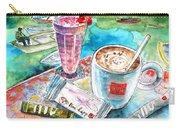 Coffee Break In Agios Nikolaos In Crete Carry-all Pouch