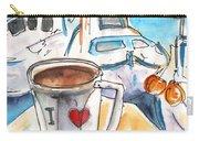 Coffee Break In Heraklion In Crete Carry-all Pouch