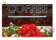 Coffee Carry-all Pouch by Cynthia Amaral