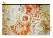 Coffee Rings Abstract Carry-all Pouch