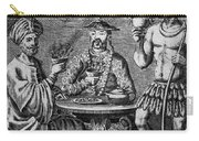 Coffee, Tea & Chocolate, 1685 Carry-all Pouch by Granger