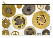 Cogwheels - Gears Carry-all Pouch by Michal Boubin