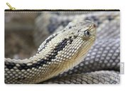 Coiled In Wait Carry-all Pouch