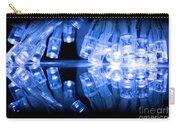 Cold Blue Led Lights Closeup Carry-all Pouch