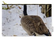 Cold Footed Goose On The Loose Carry-all Pouch