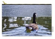 Cold Swim In The Pond Carry-all Pouch