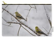 Cold Yellow Finch Walk Carry-all Pouch